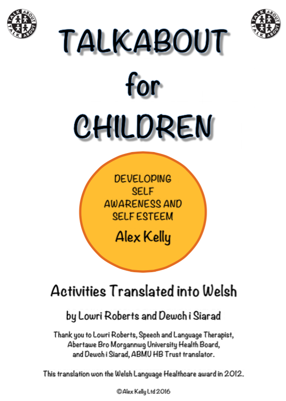 Developing Self-Awareness and Self-Esteem Talkabout for Children 1